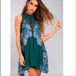 Free People Dresses - NWT Free People Marsha Printed Slip Dress